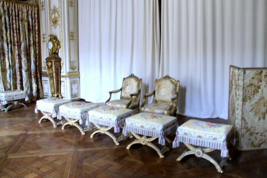 Salle manger des porcelaines picture of chateau de for Salle a manger louis xv