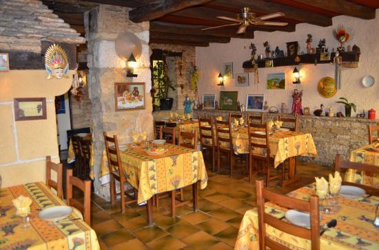 Saint-Cyprien, Frankrig: La salle de restaurant