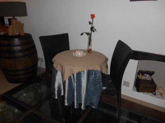 Plazac, Francja: Pour les dîners en amoureux