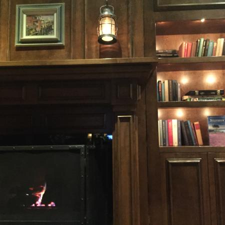 The Club Room : the library in the bar at jacks