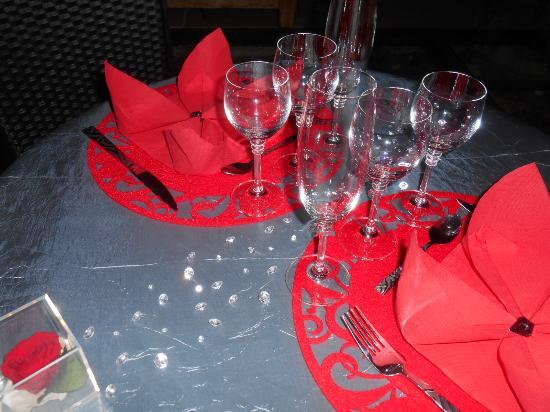 Plazac, Francja: Dîner romantique
