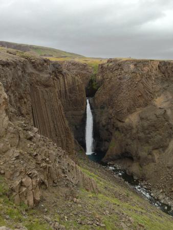 Hallormsstadur, İzlanda: Hengifoss 1