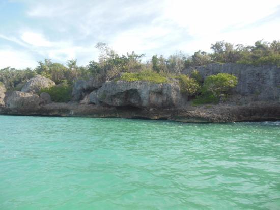 Bayahibe, Republik Dominika: mar verde turquesa