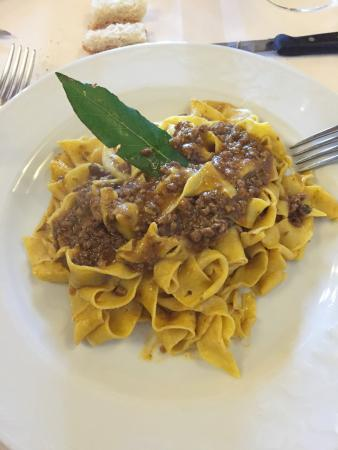 Sant'Angelo in Colle, Italia: Pappardelle cinghiale