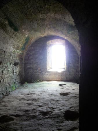Fort San Lorenzo: intact quarters