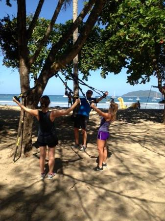 Nick Holt Fitness: Saltwater Workout on beach- brilliant