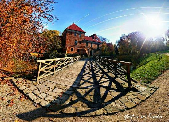 Kutno, Polen: Zamek w Oporowie - Muzeum