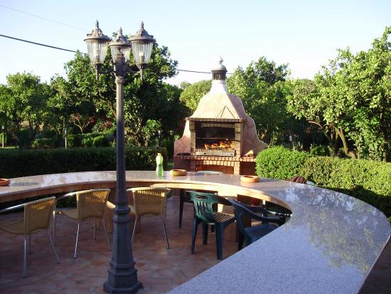 Casa da horta, barbecue