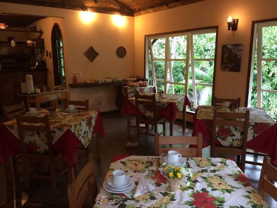 Pousada Bocaina: Vista do Café da Manhã!