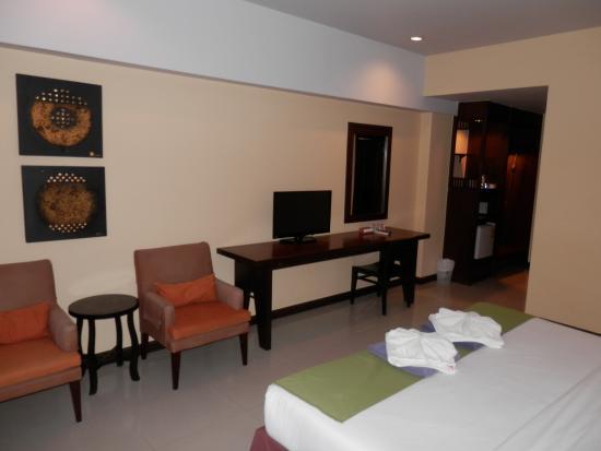 Golden Sea Pattaya Hotel: 部屋は綺麗です