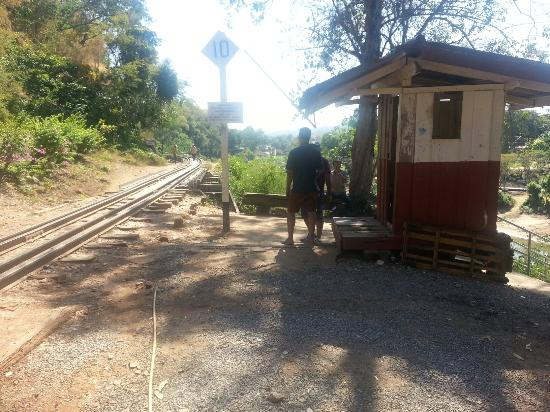 On the train - Picture of Thai-Burma Railway (Death Railway), Kanchanaburi - ...
