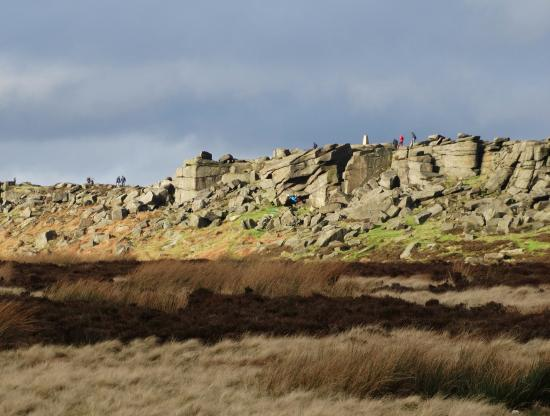 Stanage Edge - southern end