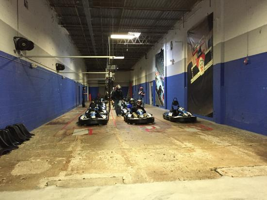 Indoor Go Karts Nashville >> Getting Ready To Fly Picture Of Music City Indoor Karting