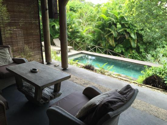 Lakaz Chamarel Exclusive Lodge: private Pool