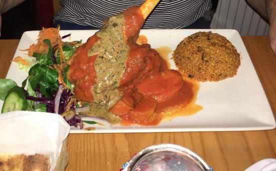 Lamb shank picture of anatolia turkish restaurant for Anatolia mediterranean turkish cuisine