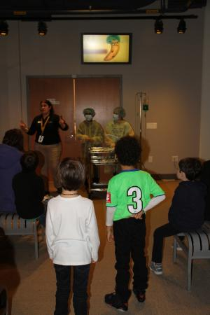 Liberty Science Center: Banana Operation