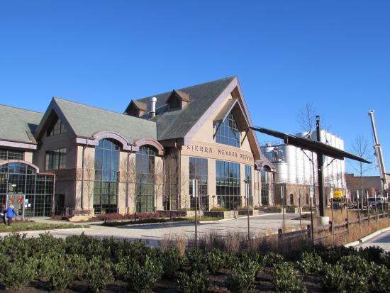 the reception center picture of sierra nevada brewery mills river rh tripadvisor com