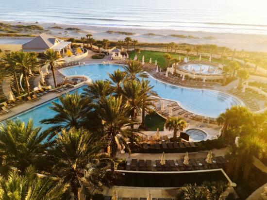 view of the pool from our suite picture of omni amelia island rh tripadvisor com