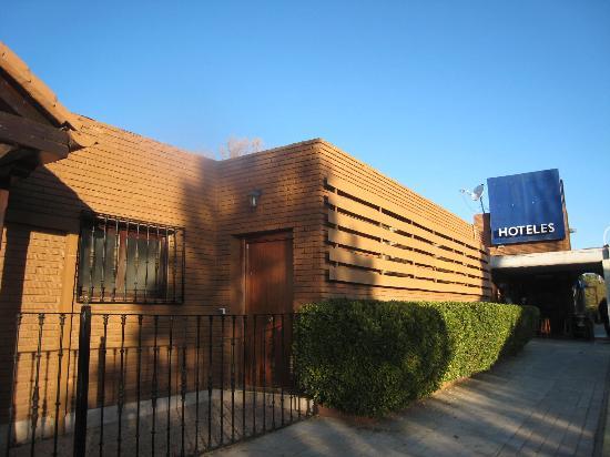 Hotel El Hidalgo: Entrada a RecepciónEntrada a Recepción