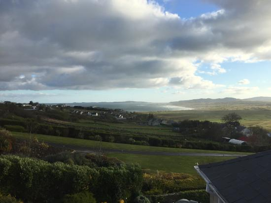 Ballyliffin Lodge & Spa Hotel: Seaside view (vue de la chambre vers Malin Head)