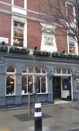 The Marquis Cornwallis: the place