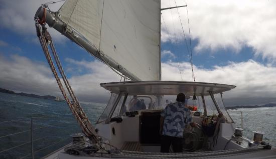 Kerikeri, Selandia Baru: Le Capitaine!