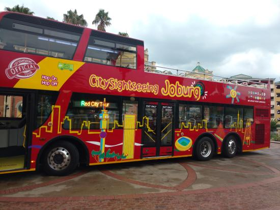 City Sightseeing Joburg : City tour bus