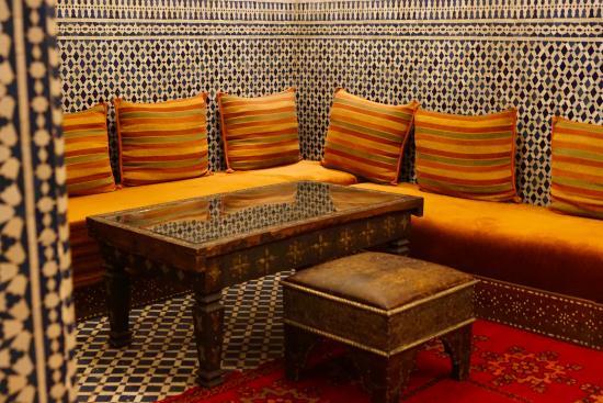 Riad Dar Tafilalet: Dinning area