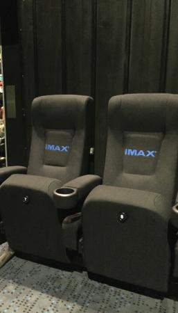 IMAX Melbourne Museum: Regular seats look great too