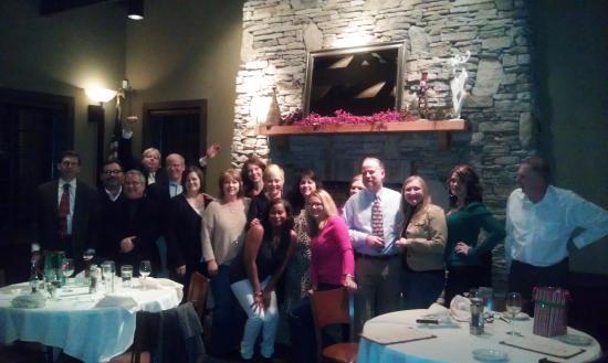 City Range Steakhouse Grill: Christmas Gathering