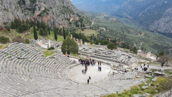 Delphi Theatre - Picture of Delphi Ruins, Delphi - TripAdvisor