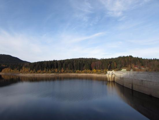 Forbach, Tyskland: Schwarzenbach-Talsperre