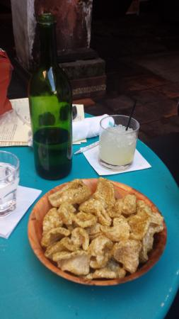 puffed and seasoned pork rinds picture of cane and table new rh tripadvisor com