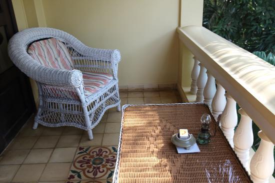 Pavillon d'Orient Boutique-Hotel: Our Balcony