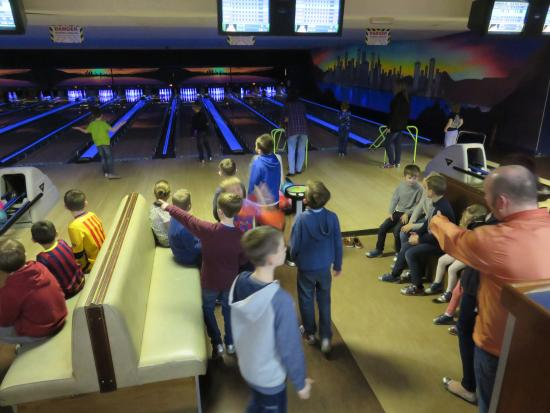 Ten pin bowling chesterfield