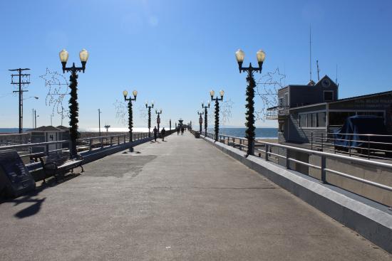 Seal Beach, CA: entrada do pier