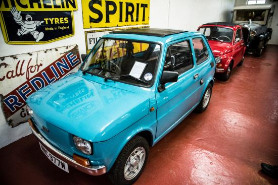Aberlady, UK: Fiat 126