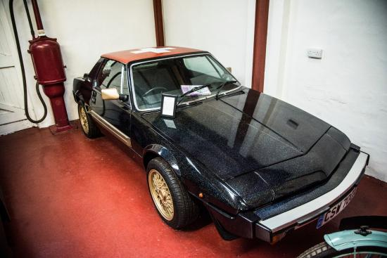 Aberlady, UK: Fiat X1/9