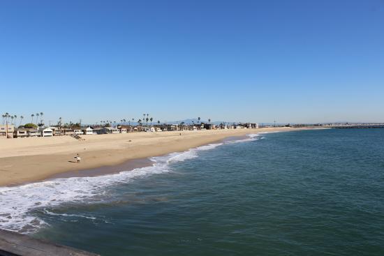 Seal Beach Visão Da Praia
