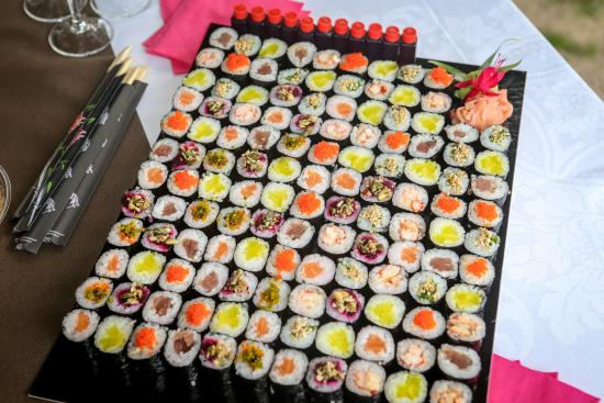 Fuchsia Sushi