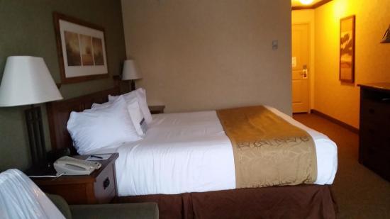 Geneva Ridge Resort: King Patio room
