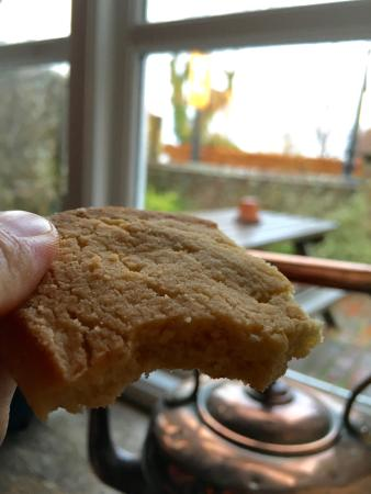 Pett, UK: Home made biscuit