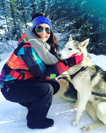 Snowy Owl Sled Dog Tours: Selfie