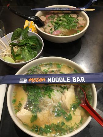 Chicken noodle soup picture of mecha noodle bar for Asian cuisine mohegan lake