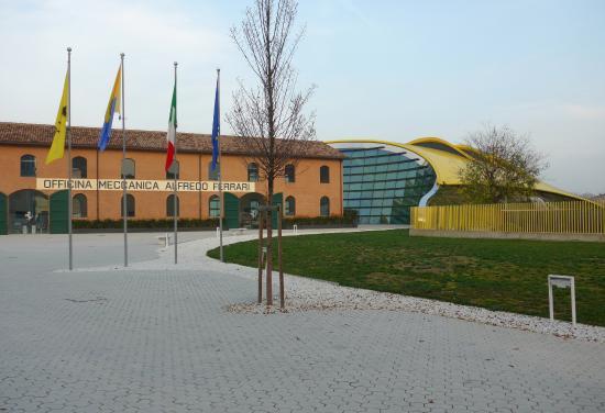 enzo ferrari museum (museo casa enzo ferrari) modena, italy