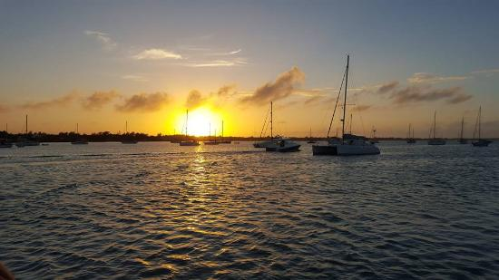 Marsh Harbour, Great Abaco Island: sunset