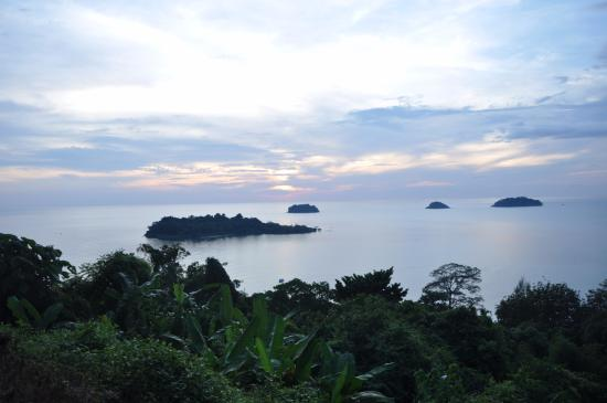 Закат на смотровой - Picture of Mu Ko Chang National Park ...