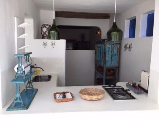 UXUA Casa Hotel & Spa: Pequena Cozinha