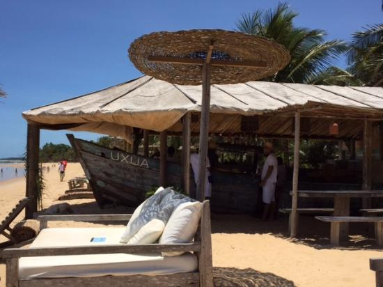 UXUA Casa Hotel & Spa: Estrutura do Hotel na Praia