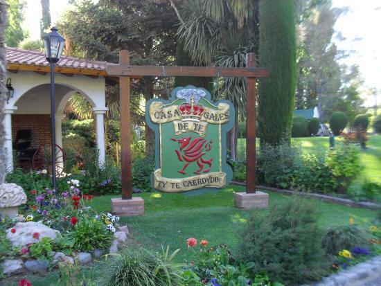 The Town of Gaiman : Casa de te- Ingreso al parque